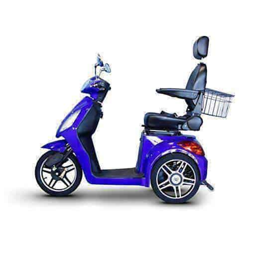 EWheels 3-Wheel Electric Mobility Scooter – Royal Blue - Senior.com Scooters