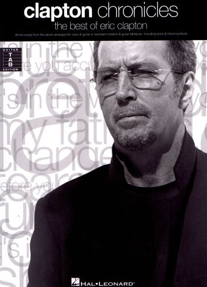 Eric Clapton Chronicles Guitar Tab by
