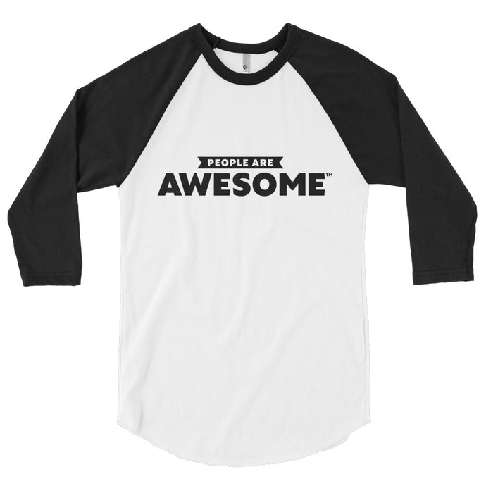 People Are Awesome 3/4 sleeve shirt