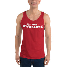 Load image into Gallery viewer, People Are Awesome Unisex Tank Top (White Logo)