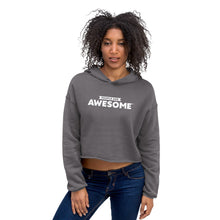 Load image into Gallery viewer, People Are Awesome Women's Crop Hoodie