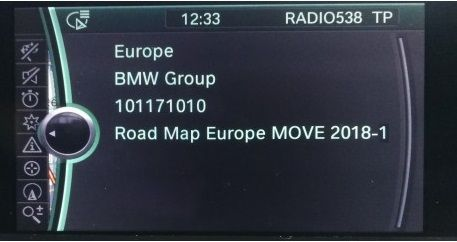 BMW Move 2019 Navigation Map Update Package