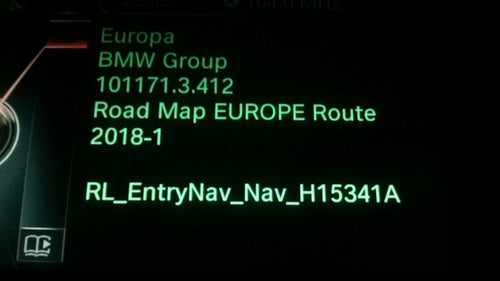 BMW Route 2019 Navigation Map Update Package