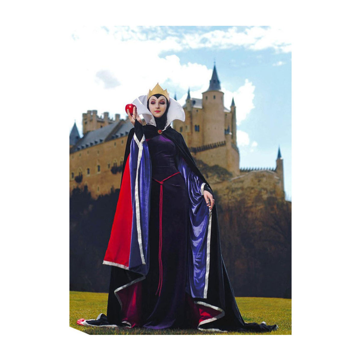 Snow White Evil Queen Cosplay Costume