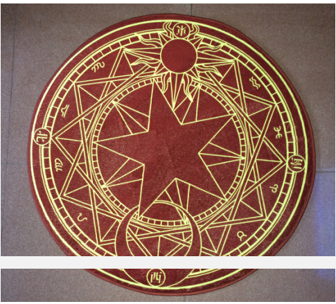 Card Captor Sakura Magical Summoning Circle Mat