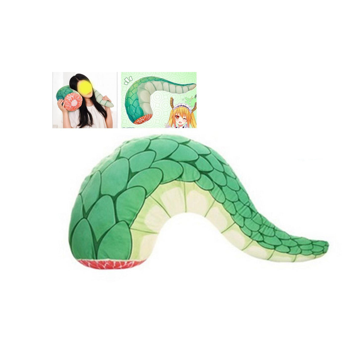 Miss Kobayashi's Dragon Maid Anime Tail Meat Pillow