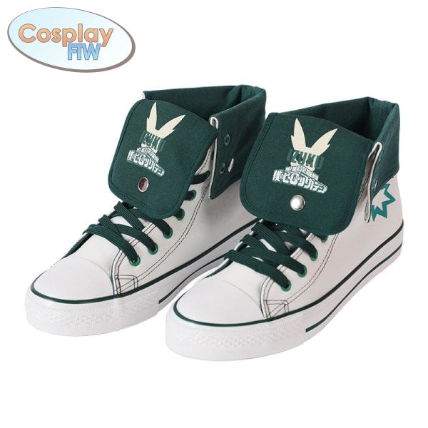 My Hero Academia Canvas Sneakers / Character Style Shoes Deku 36 Shoes