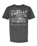 """More Thrills Than Ever"" Acid Wash Tee"