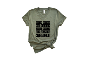 Mom Life Tee DROPSHIP
