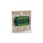 Scart With Quick Connect Terminal Wallplate HCP11QC - k2audio