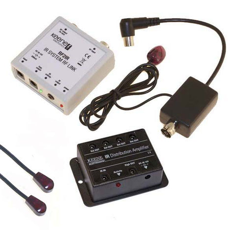 Keene IR Over Aerial Kit including IR distribution amp RF2KIT - k2audio