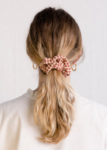 Jessie : Picnic cotton scrunchie