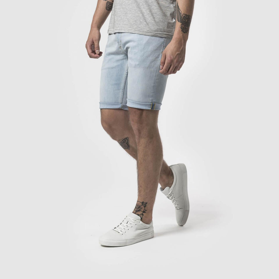 Kent Light Wash Denim Shorts - Saint Street