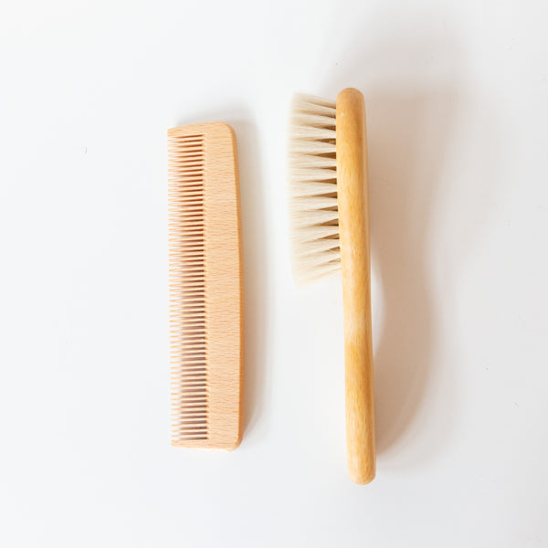 Baby Brush + Comb Set