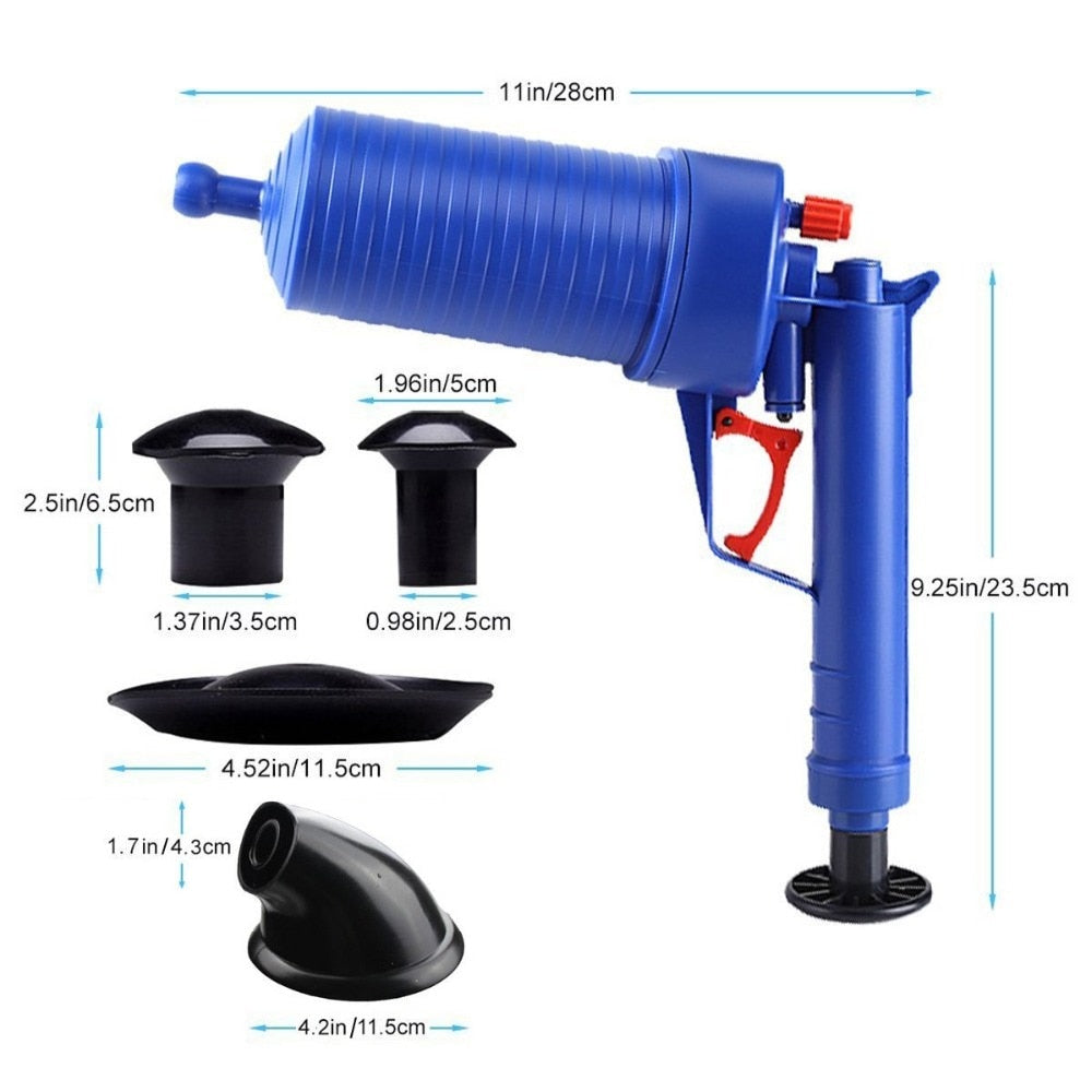 Air Pressurized Heavy Duty Drain Blaster