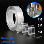 Multi-Functional Double Sided Super-Adhesive Tape Roll, Residue-Free