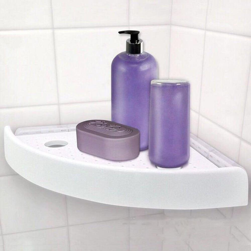 Snap Up Bathroom Shelf Organizer