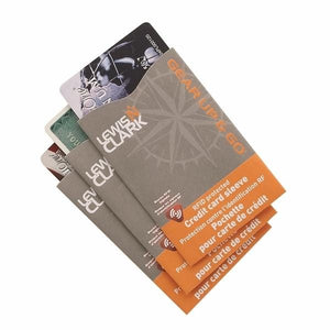 Lewis N Clark RFID Credit Card Shield-3 Piece Pack