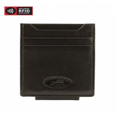 Mancini Leather RFID Secure Deluxe Bill Clip