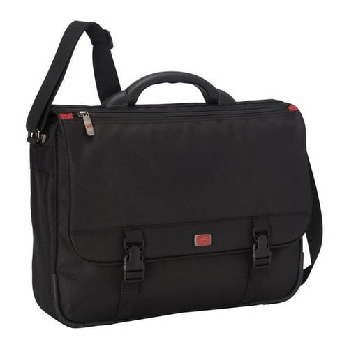 Mancini BIZTECH Laptop/ Tablet Messenger Bag with RFID pocket