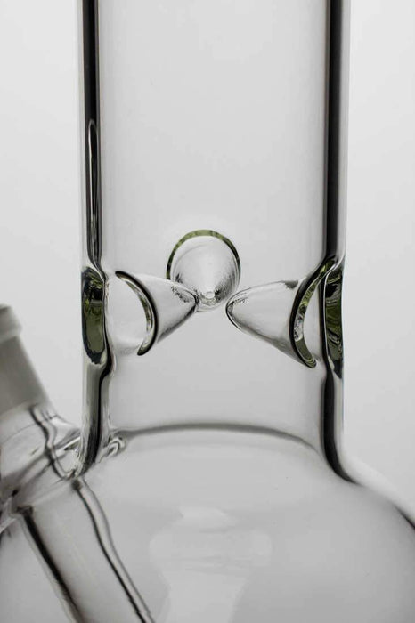 "18"" clear round base glass water bong - Bong outlet Canada"