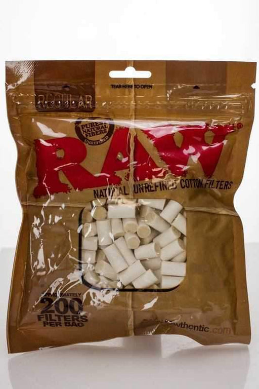 Raw Regular Natural Unrefined Cotton Filter Tips - One wholesale Canada