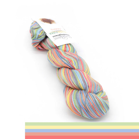 Пряжа Cascade Yarns ULTRA PIMA PAINTS - Цвет 9715 Spring Break | KatyushaShop.com