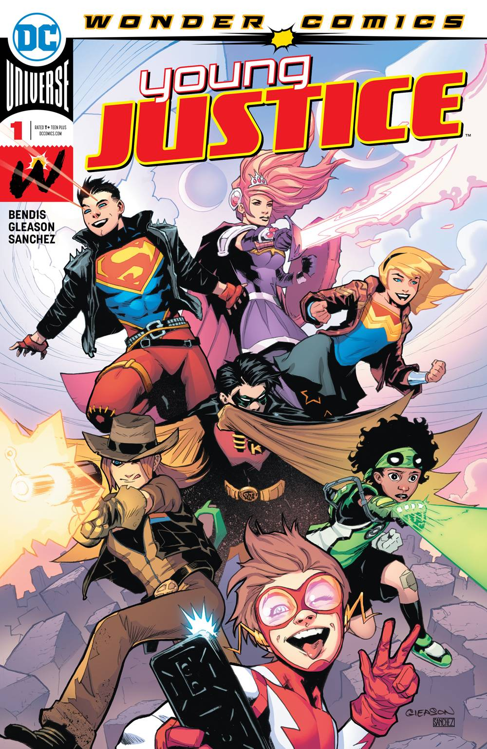 YOUNG JUSTICE #1 1st Appearance Teen Lantern