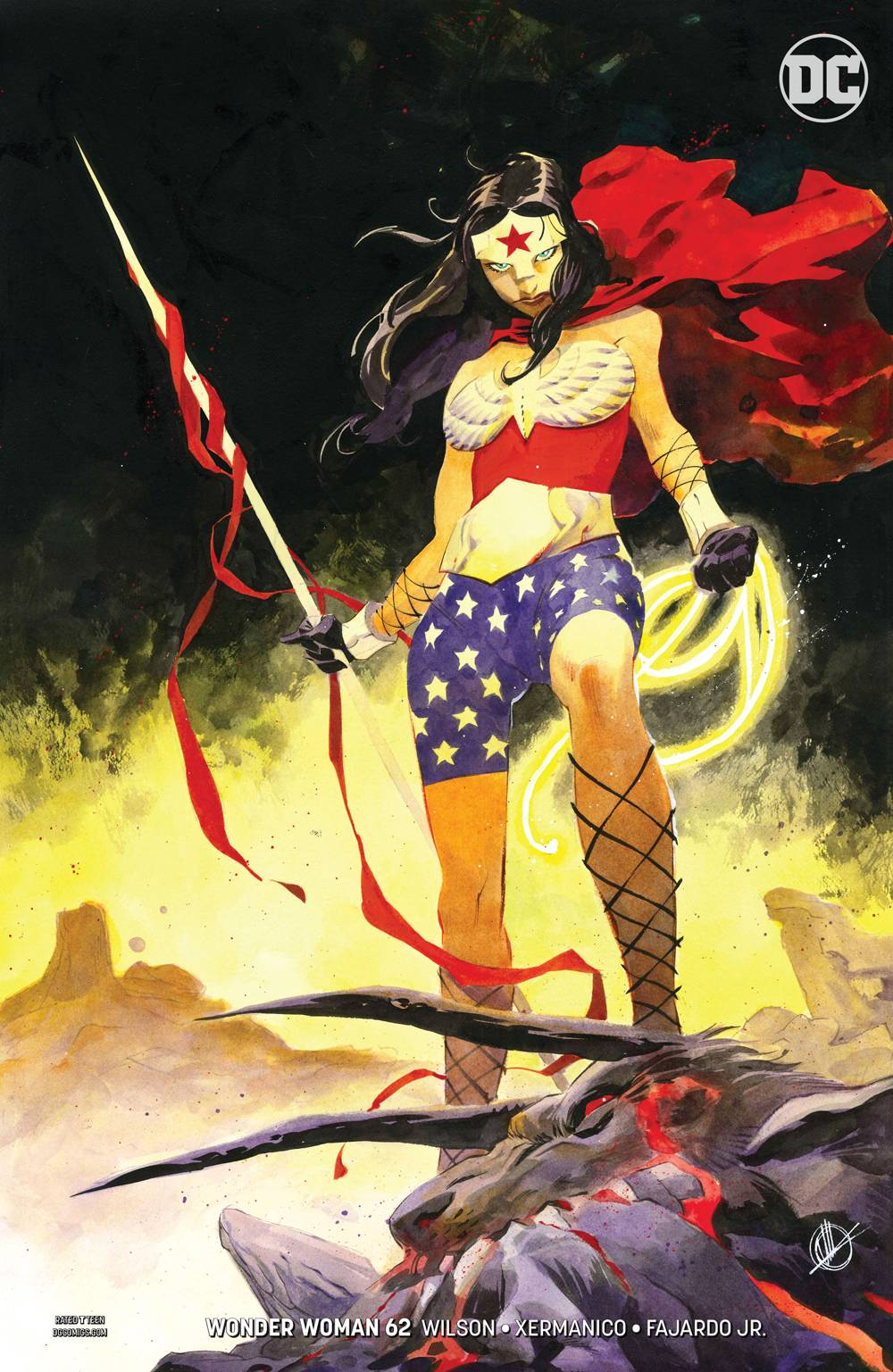WONDER WOMAN #62 VAR ED