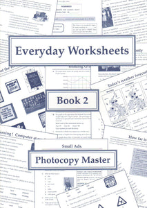 Everyday Worksheets: Book 2