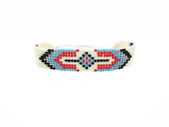 Handmade Beaded Friendship Bracelets - Buy One Get One FREE - Use Promo Code Buy1Get1 Bracelet Supply and Vibe White