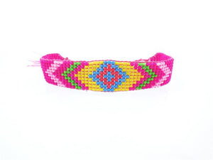 Handmade Beaded Friendship Bracelets - Buy One Get One FREE - Use Promo Code Buy1Get1 Bracelet Supply and Vibe Pink
