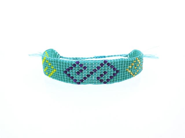 Handmade Beaded Friendship Bracelets - Buy One Get One FREE - Use Promo Code Buy1Get1 Bracelet Supply and Vibe Turquoise