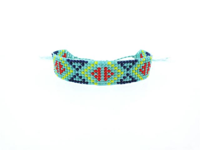Handmade Beaded Friendship Bracelets - Buy One Get One FREE - Use Promo Code Buy1Get1 Bracelet Supply and Vibe Blue Green