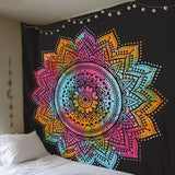 Meditation & Yoga Room - Bohemian Style Wall Tapestry Wall Decor Supply and Vibe 1 150x150cm United States