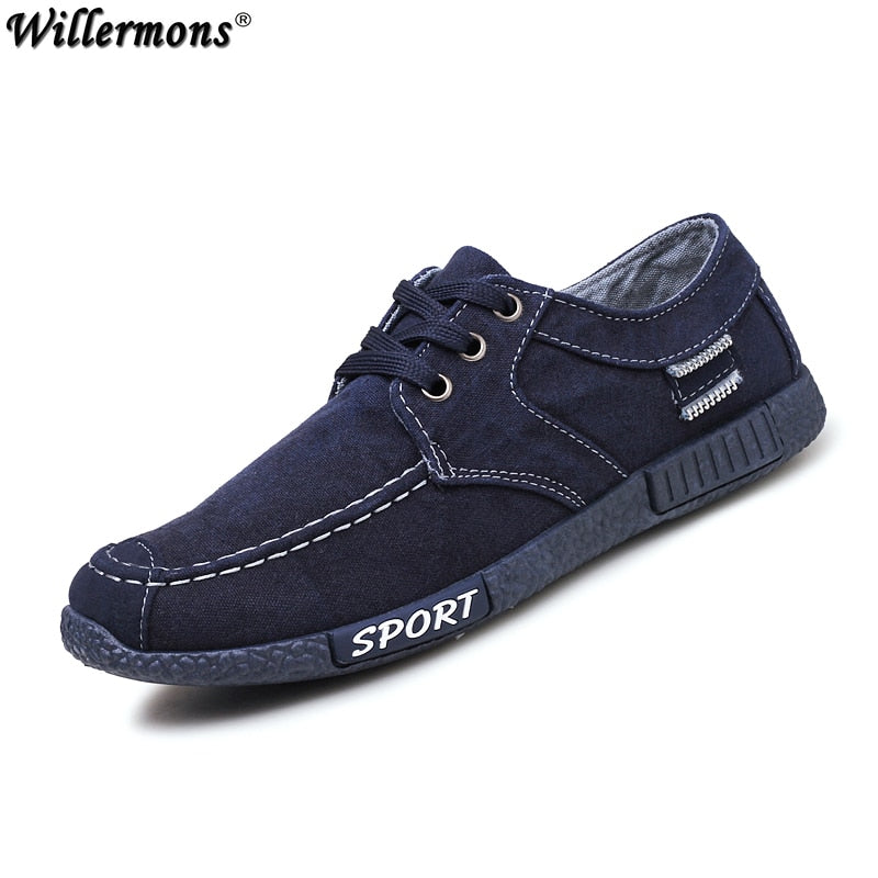 Men's Outdoor Fashion Canvas Loafers Shoes