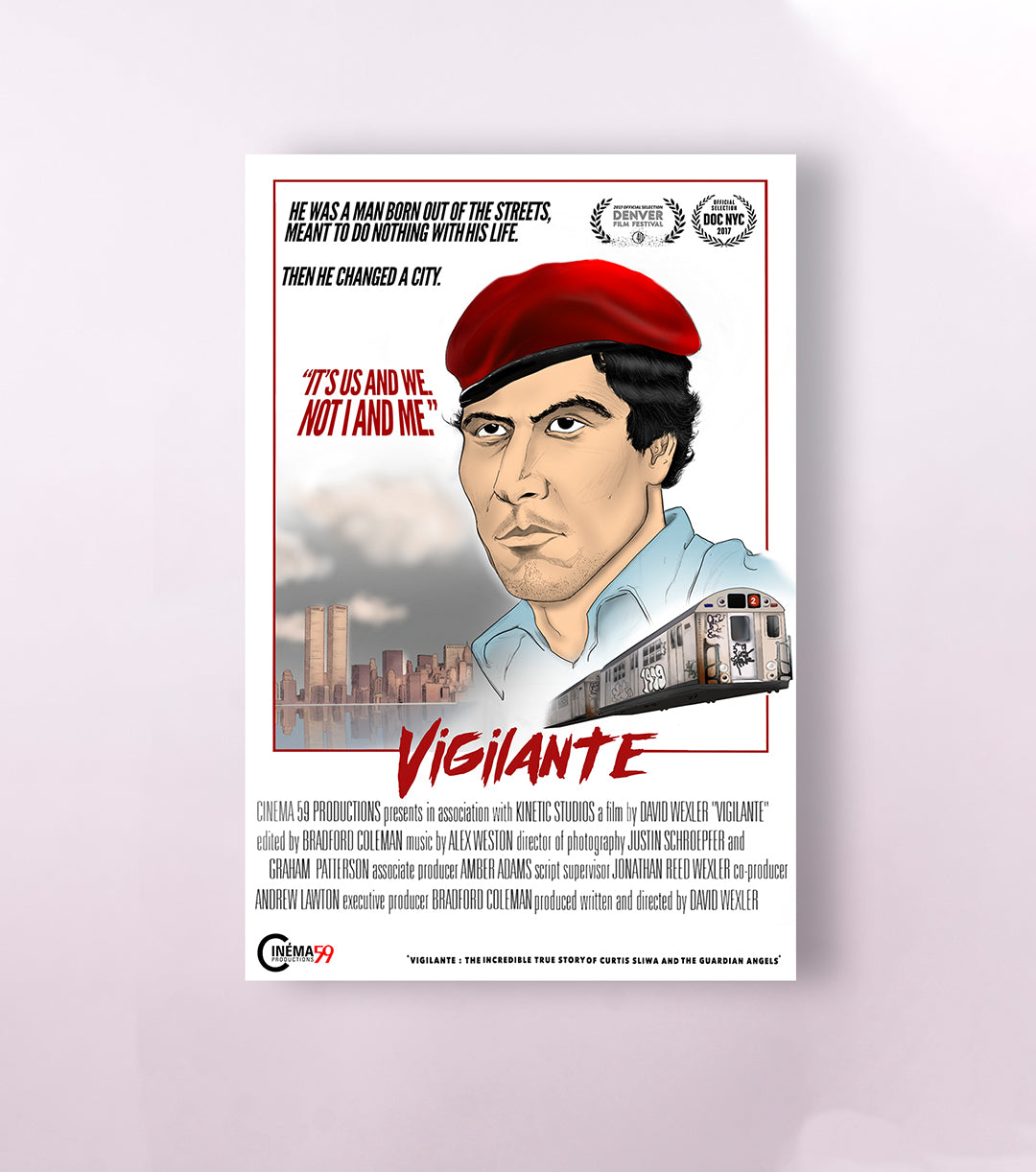 Vigilante - The Incredible True Story of the Guardian Angels - DOCUMENTARY