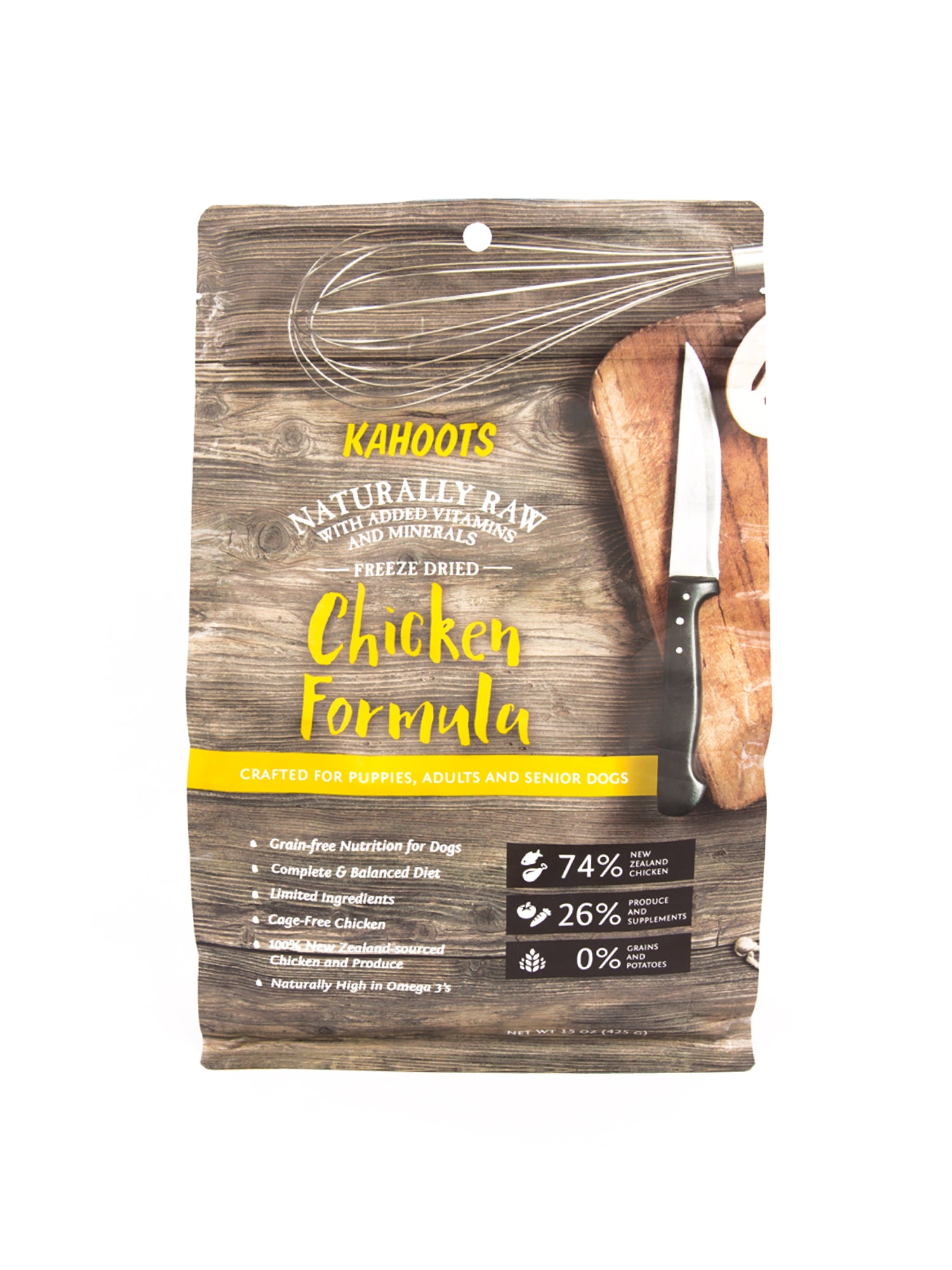 Freeze-dried Raw Chicken Formula