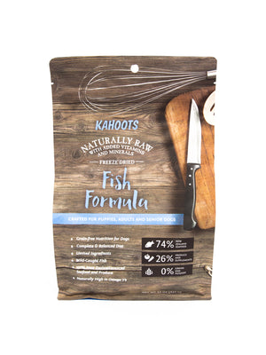 Freeze-dried Raw Fish Formula