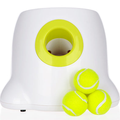 Dog pet toys Tennis Launcher Automatic throwing  machine pet Ball throw device 3/6/9m Section emission with 3 balls