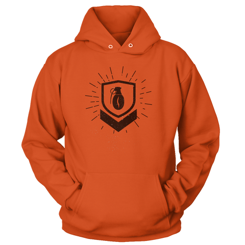 Image of Military Grade Coffee Badge Hoodie