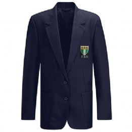 Friern Barnet Girls Navy Blazer with Logo