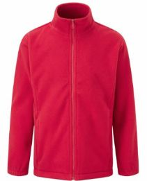 Bottisham Primary Red Fleece with Logo