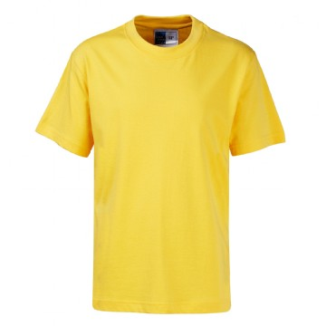 School Order St Werburghs Gold PE Teeshirt with printed logo