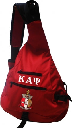 One-Strap Bookbag -Kappa Alpha Psi -Greek_Paraphernalia - M3 Greek