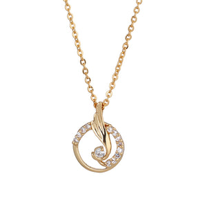 Dancing Annular Zincons Hollow out Necklace