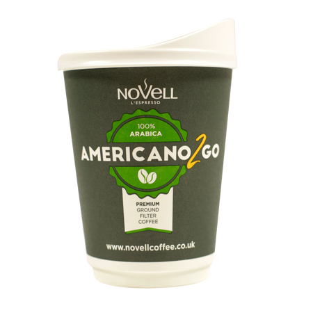 In-cup Americano2go 150 units cups and lids