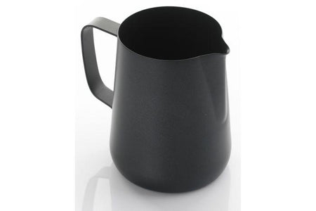 0.6 LITRE TEFLON FOAMING JUG - Black
