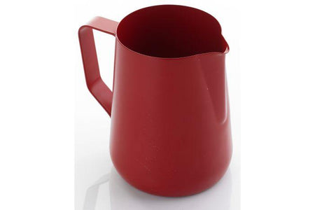 0.6 LITRE TEFLON FOAMING JUG - Red