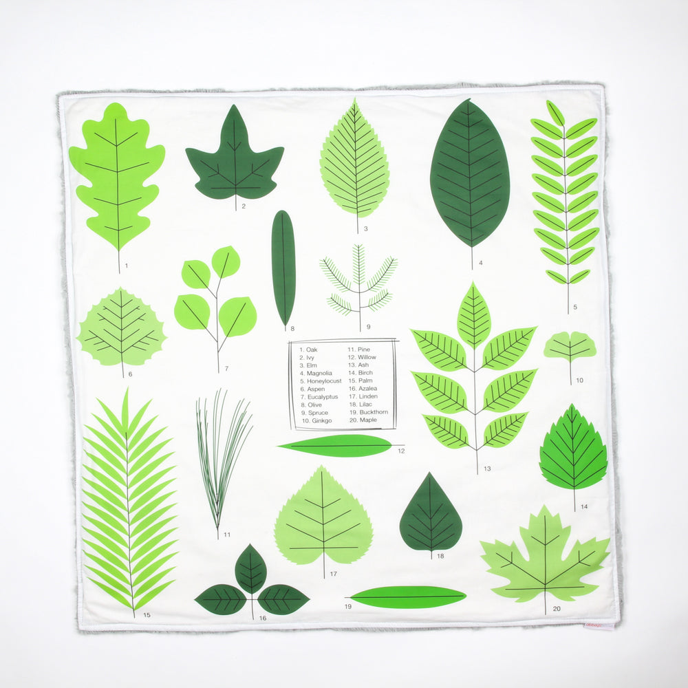 Leaf Identifier Cuddle Blanket